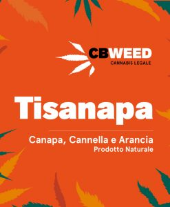 Tisanapa - Hemp, Orange and Cinnamon