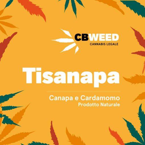 Tisanapa - Hemp and Cardamom
