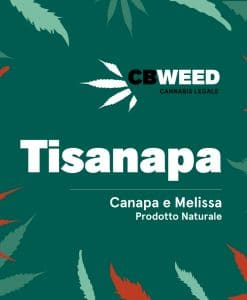 Tisanapa - Hemp and Lemon Balm