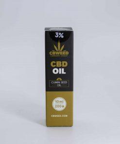 Olio al CBD con Olio di Semi di Cumino Nero
