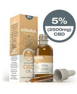 Cibdol Olio di CBD5% - 50ml