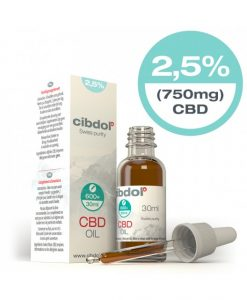 Cibdol CBD oil 2,5% - 30 ml