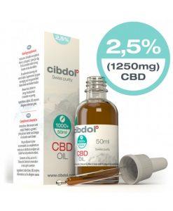 Cibdol Olio di CBD 2,5% - contenitore da 50 ml