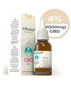 Cibdol Olio di CBD 4% - 50 ml
