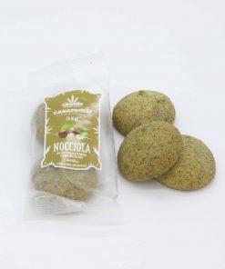 Biscotti di farina di canapa ripieni