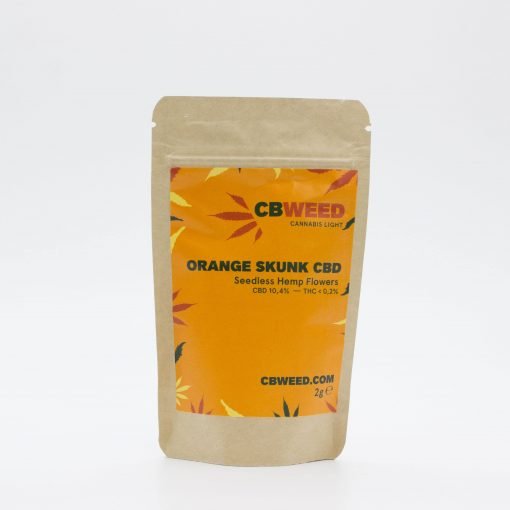 Cannabis Light Cbweed Orange Skunk CBD