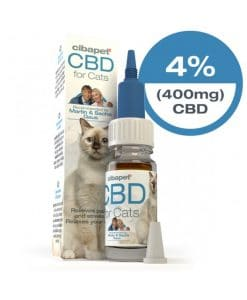 Olio di CBD per gatti al 4%