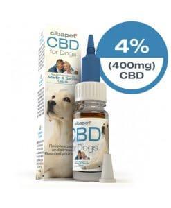 Olio di CBD per cani al 4%