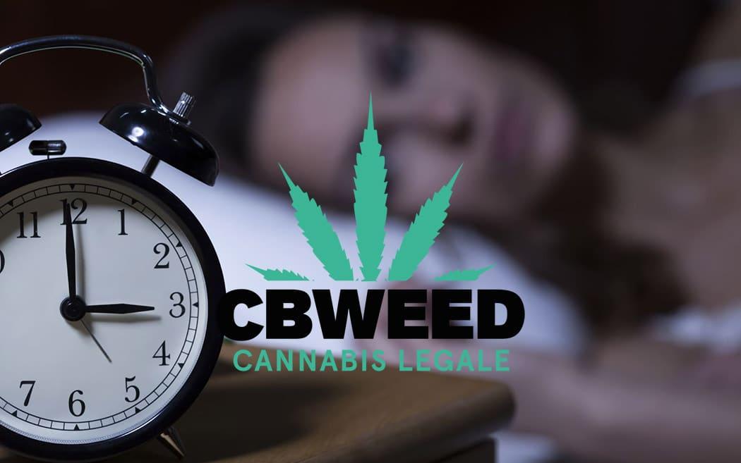 CBD Cannabis Light Cura Per Insonnia
