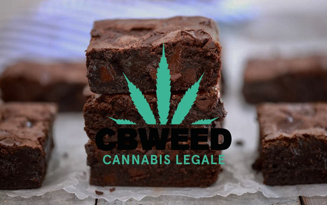 Brownies Cannabis Ricetta Golosa Torta Cioccolato Marijuana