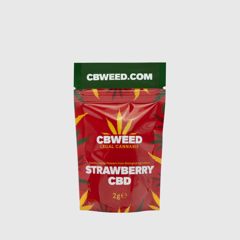 Cannabis Light Strawberry CBD – 2g EU