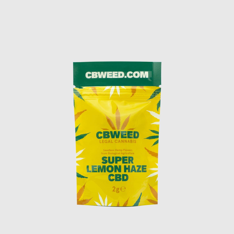 Cannabis Light Super Lemon Haze CBD - 2g EU