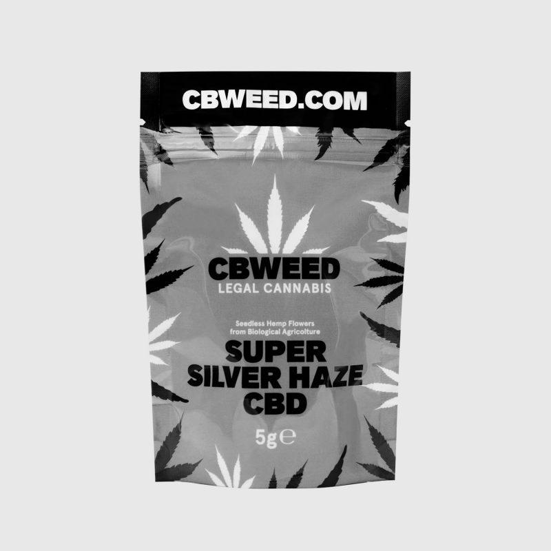 Cannabis Light Super Silver Haze CBD – 5g EU