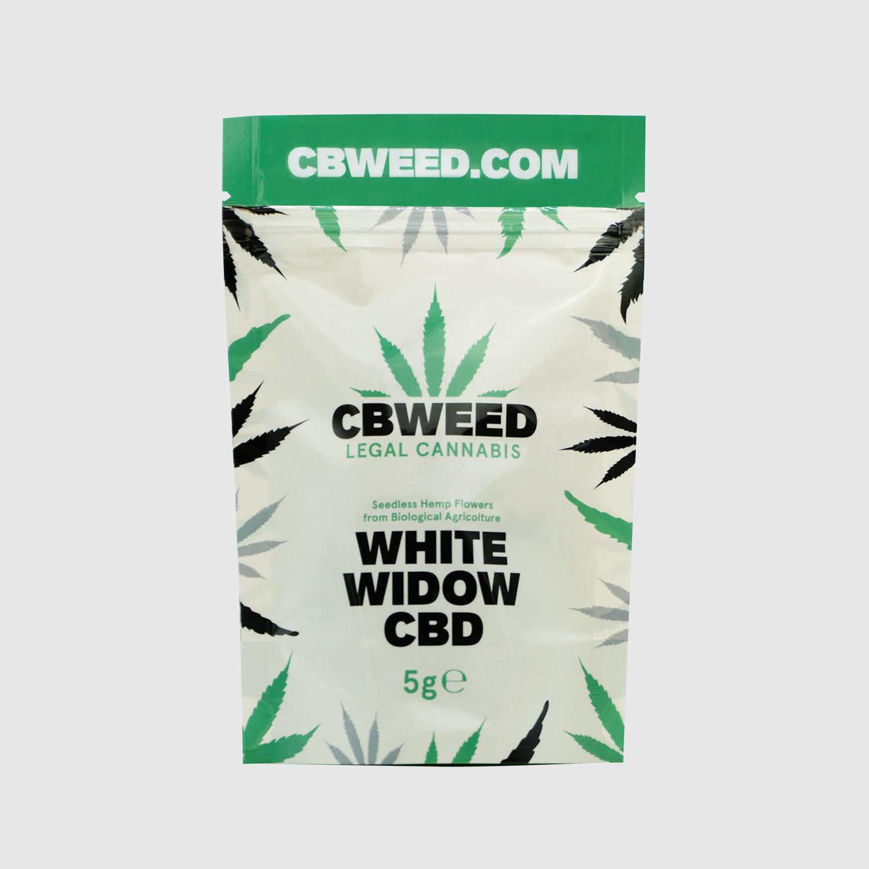Cannabis Light White Widow CBD – 5g EU