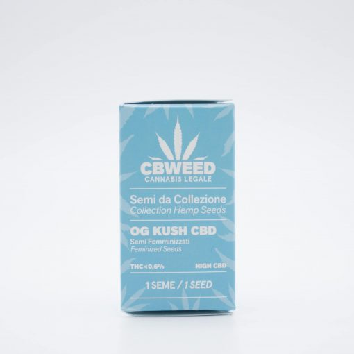 Semi femminizzati Og Kush CBD packaging