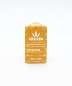 Semi autofiorenti femminizzati Orange Cbd packaging