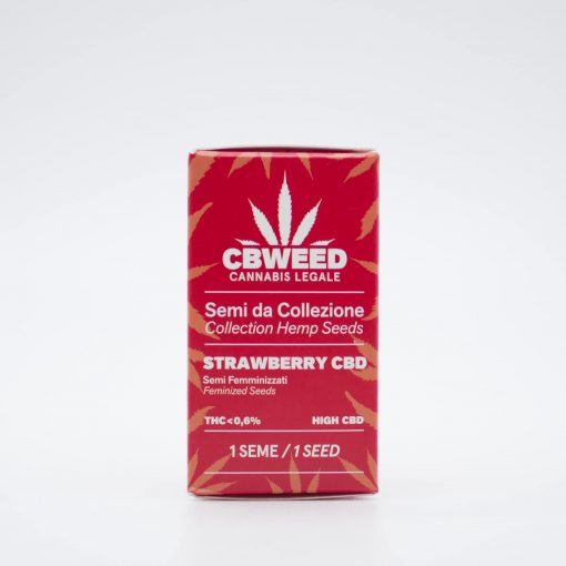 Semi femminizzati Strawberry CBD packaging