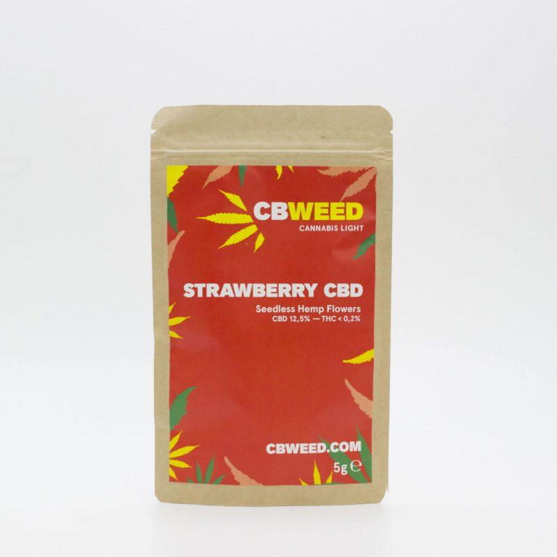 Cannabis Light Strawberry CBD 5g EU