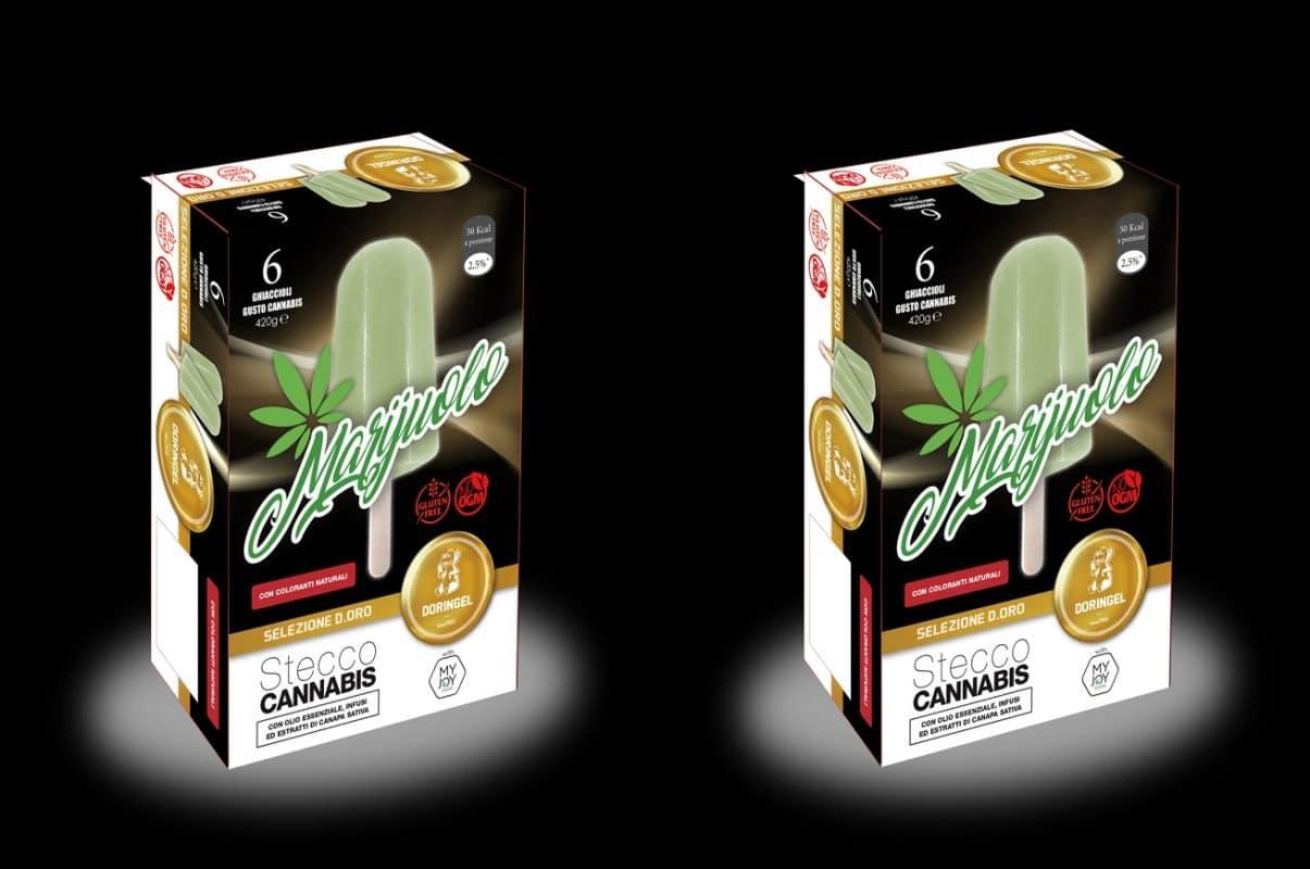 Marijuolo: il ghiacciolo alla cannabis legale