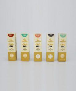 Olio al CBD con Olio di Canapa