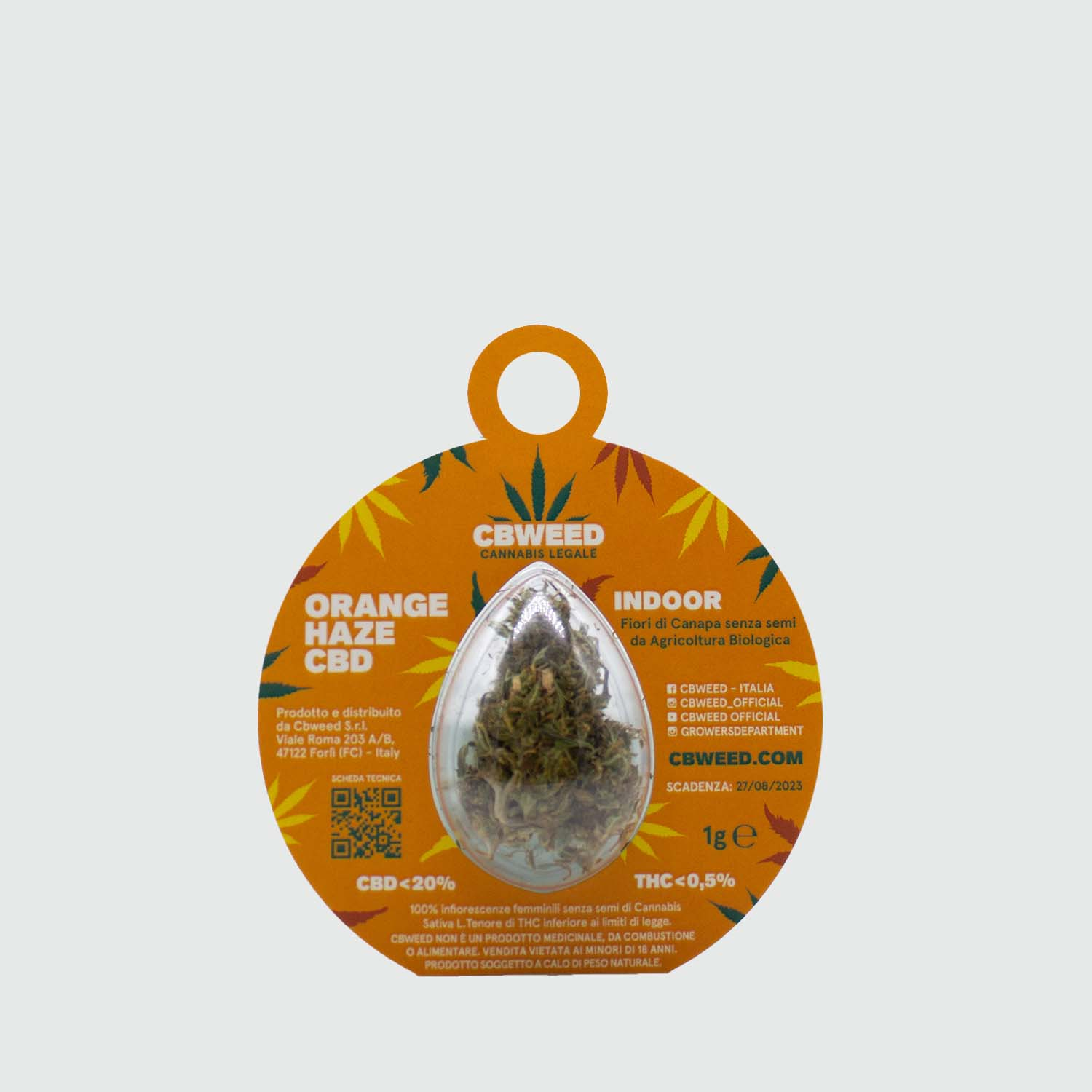 CBWEED-Natale-palline-orange-haze
