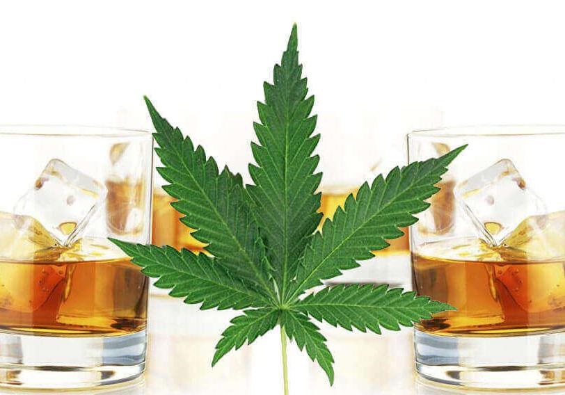 Liquore-fatto-casa-cannabis
